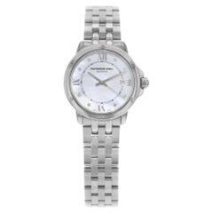 Raymond Weil Tango White MOP Diamond Markers Steel Ladies Watch 5391-ST-00995