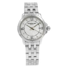 Raymond Weil Tango White Mother of Pearl Dial Steel Ladies Watch 5391-ST-00995