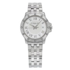 Raymond Weil Tango White Roman Dial Steel Quartz Men's Watch 5599-ST-00308