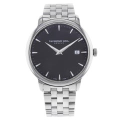 Raymond Weil Toccata Black Dial Stainless Steel Quartz Men's Watch 5488-ST-20001