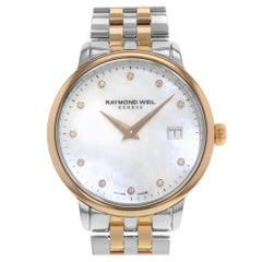Raymond Weil Toccata MOP Dial Two-Tone Steel Quartz Ladies Watch 5988-SP5-97081