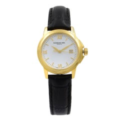Raymond Weil Tradition Steel White Roman Dial Quartz Ladies Watch 5376-P-00307