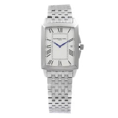 Raymond Weil Tradition Steel White Roman Dial Quartz Men's Watch 5597-ST-00300