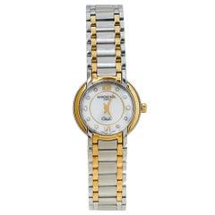 Raymond Weil White Stainless Steel Diamonds Othello Women's Wristwatch 25MM