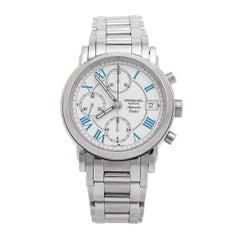 Raymond Weil White Stainless Steel Saxo 7720 Men's Wristwatch 37 mm