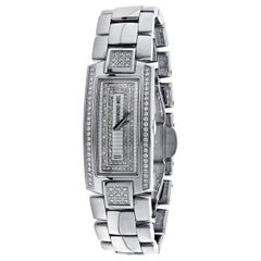 Raymond Wiel Ladies Shine 1500 Diamond and Stainless Steel Wristwatch