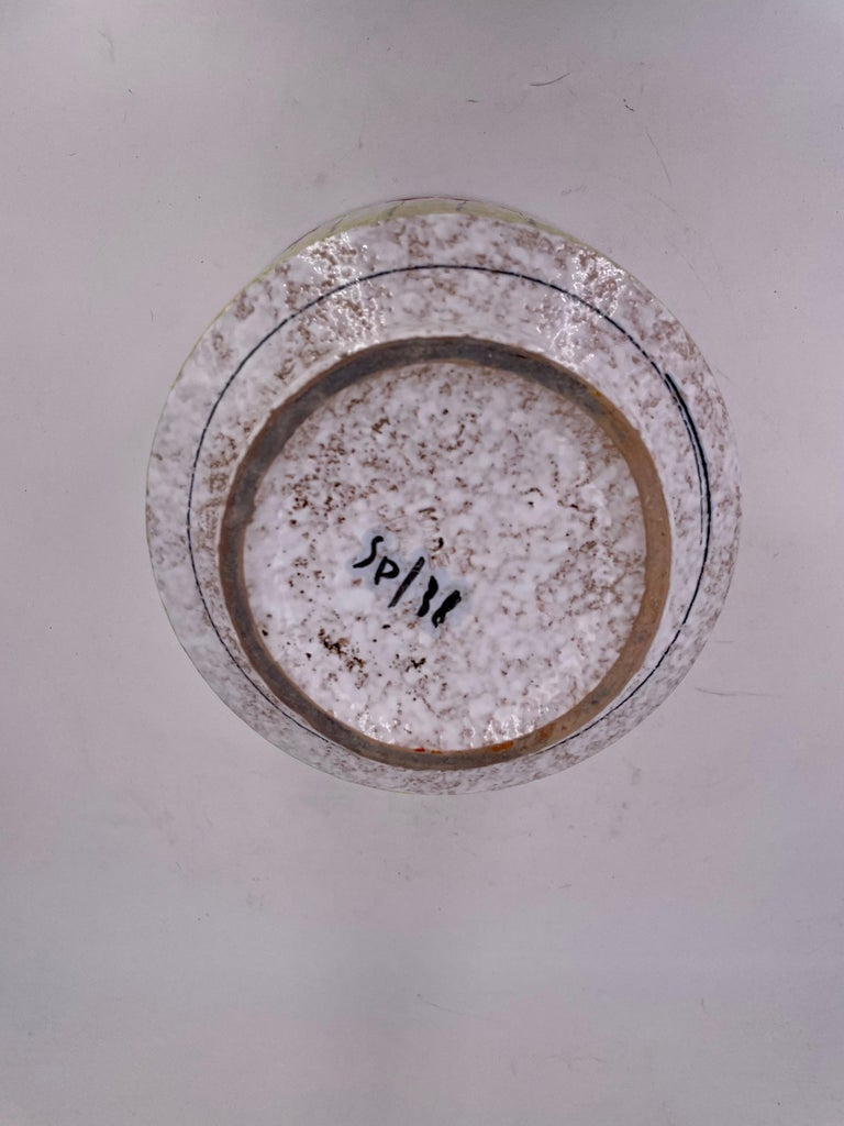 Raymor Bitossi Italian Pottery Rare Planter For Sale 1