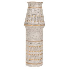 Raymor White and Gold Italian Vase
