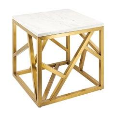 Raytona Brushed Side Table