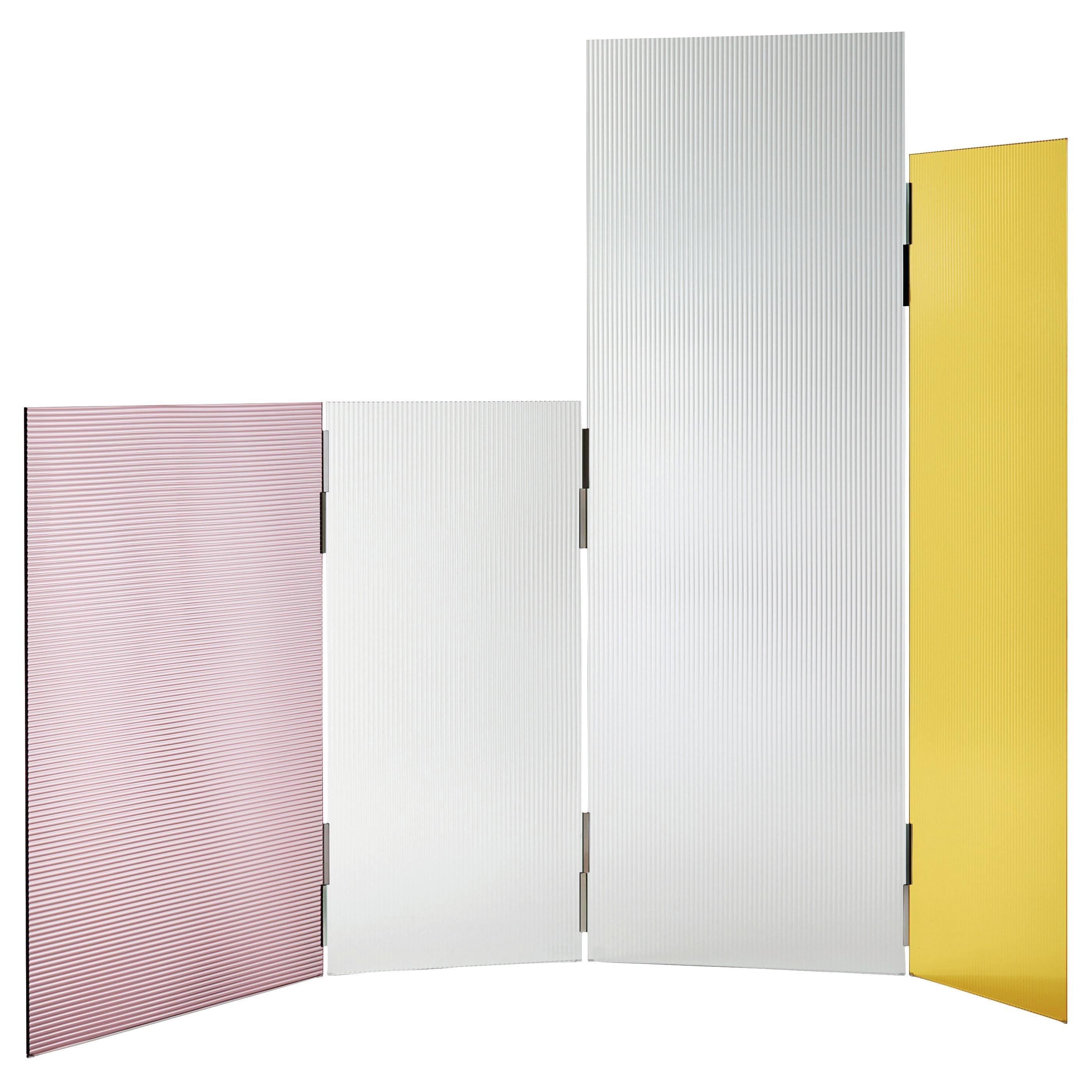 Rayures Modular Screen Panels, by Ronan & Erwan Bouroullec for Glas Italia