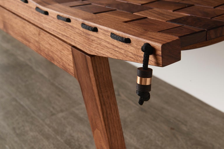 Joinery RB Bench, Modern Handcrafted Sculptural Maple Bench For Sale