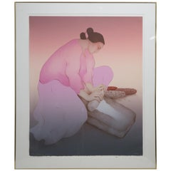 "R.C. Gorman Original Pencil Signed Lithograph ""Masa"""