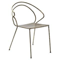 Re-Bis Iron Chair by Antonio Saporito