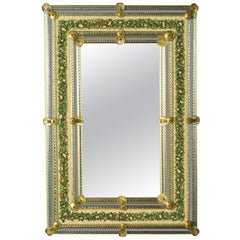 Re Sole Venetian Mosaic Mirror by Ongaro & Fuga