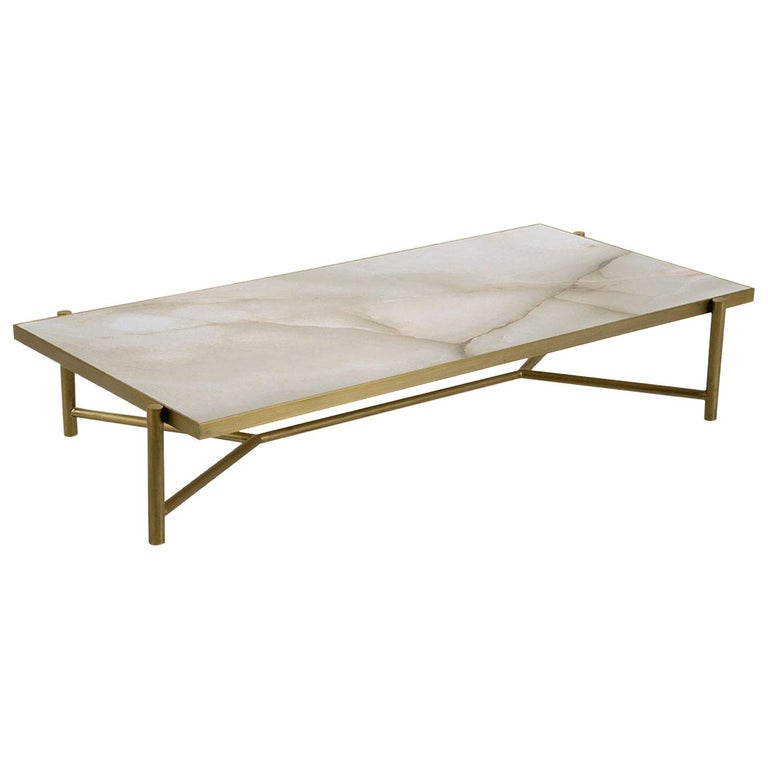 Rea Rectangular Coffee Table For Sale