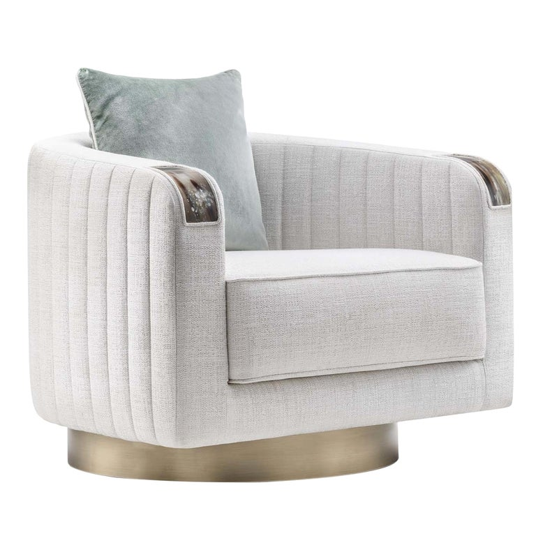 Rea Swivel Armchair For Sale at 1stdibs