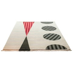 """""""Reaching Out"""" Hand-Knotted Wool Rug by Carpets CC"""