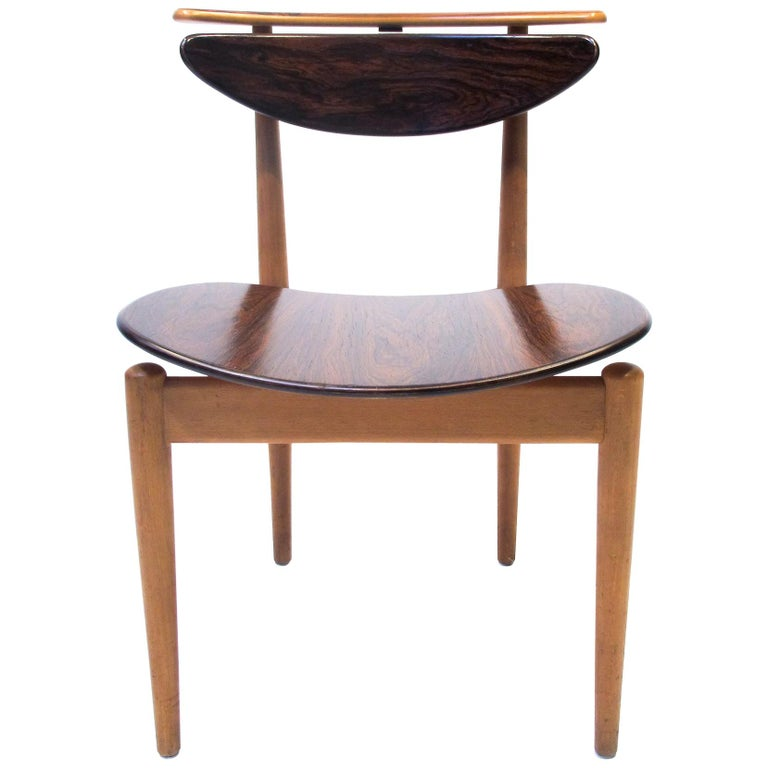 Finn Juhl  Bo62, the Reading Chair by Bovirke. 1953 For Sale