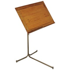 Reading/Music Stand by Bruno Mathsson, circa 1940 Hand Signed BM41