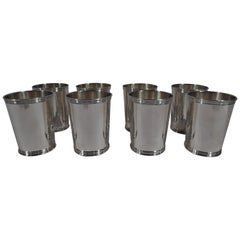 Real Deal Southern Barware, Set of 8 Mint Juleps by Trees of Kentucky