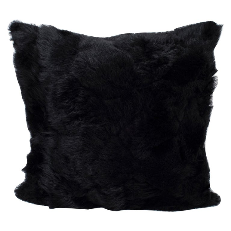 Real Fur Pillow, Authentic Toscana Sheep Fur For Sale