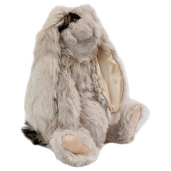 Real Toscana Sheep Fur Rabbit Toy Made to Order