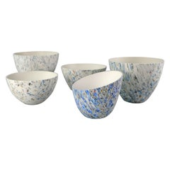 RE:Animate, Decorative Recycled Plastic 'Grain' Bowls by Zoe Robertson and Dual