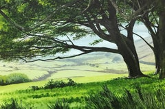 Landscape Painting of the English Countryside by British Contemporary Artist