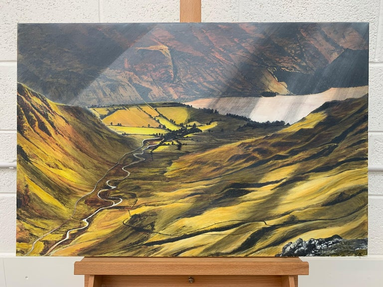 Landscape Painting of the English Lake District by British Contemporary Artist For Sale 1