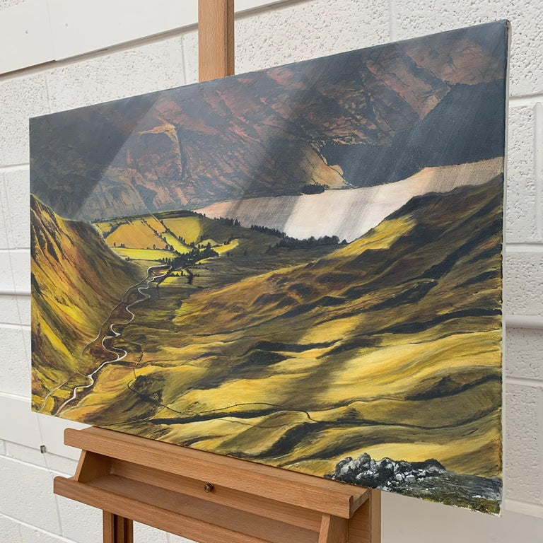Landscape Painting of the English Lake District by British Contemporary Artist For Sale 3