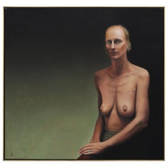 Rebecca Davenport Oil Painting Nude Portrait, Washington DC