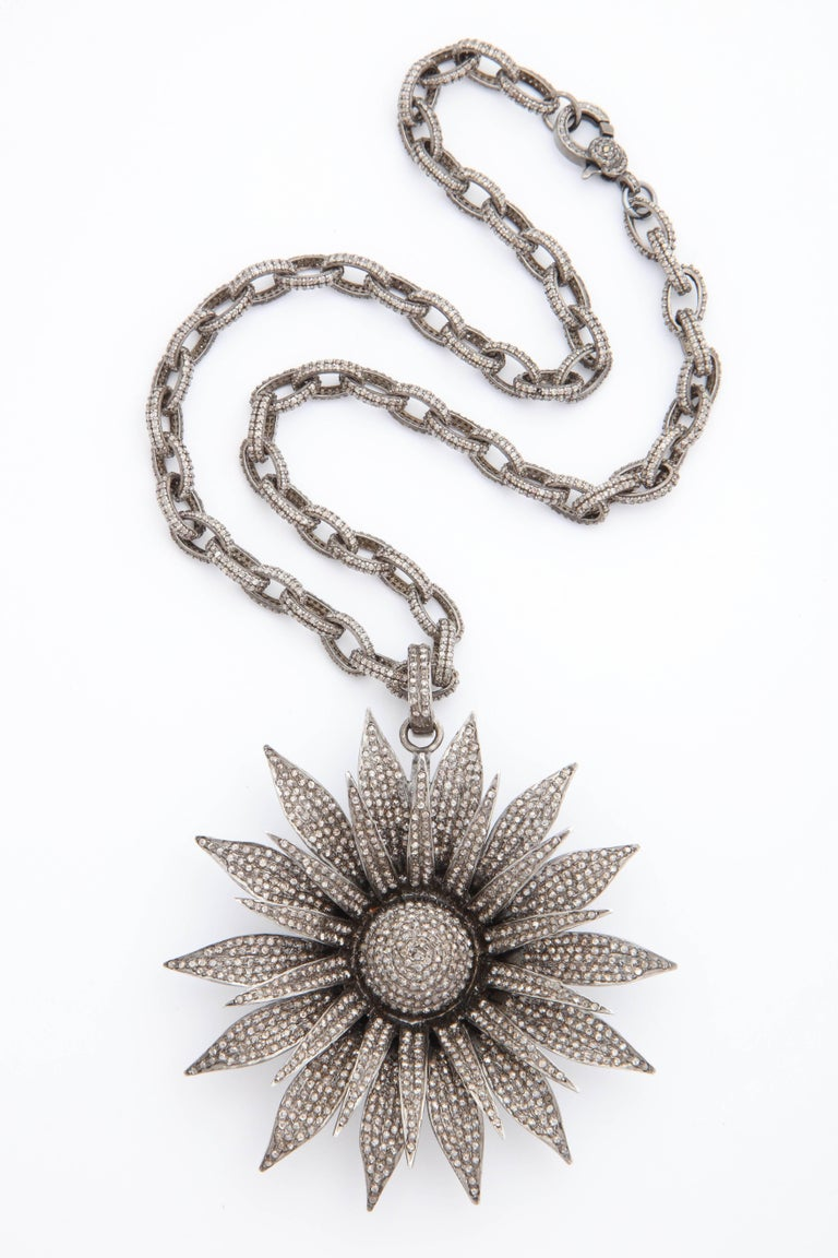 us necklace jewelry en pendant floral lace pandora daisy
