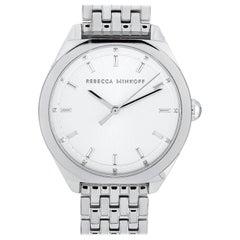 Rebecca Minkoff Amari Silver-Tone Watch 2200325