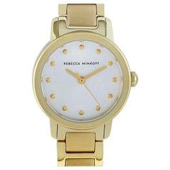 Rebecca Minkoff BFFL Gold-Tone Watch 2200333