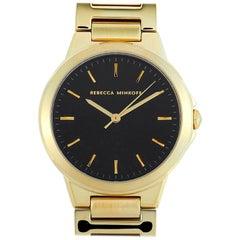 Rebecca Minkoff Cali Gold-Tone Watch 2200304