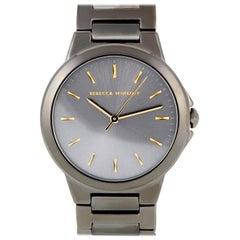Rebecca Minkoff Cali Gray Ion-Plated Watch 2200306