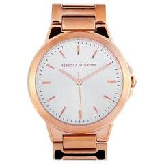 Rebecca Minkoff Cali Rose Gold-Tone Watch 2200305