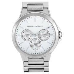 Rebecca Minkoff Cali Silver-Tone Watch 2200356