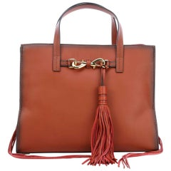 Rebecca Minkoff Florence HF36DFNT64 Large Baked Clay Leather Ladies Tote Purse
