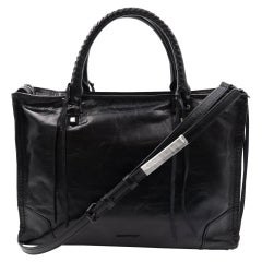 Rebecca Minkoff HS16MDSS31 Regan Satchel Tote Black Shoulder Ladies Bag