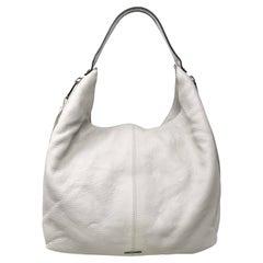 Rebecca Minkoff Large Beige Leather Bryn Double Zip Hobo Ladies Purse HS26GMOH17