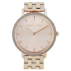 Rebecca Minkoff Major Carnation Gold-Tone Watch 2200349