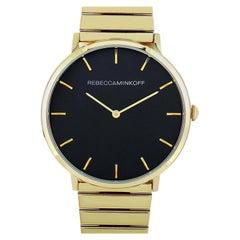Rebecca Minkoff Major Gold-Tone Watch 2200006