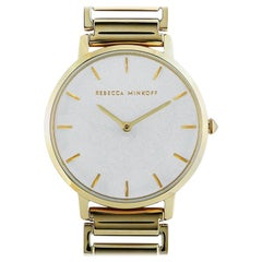 Rebecca Minkoff Major Gold-Tone Watch 2200259