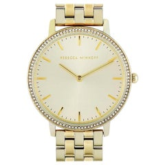 Rebecca Minkoff Major Gold-Tone Watch 2200348