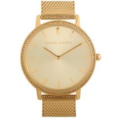 Rebecca Minkoff Major Gold-Tone Watch 2200392