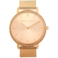 Rebecca Minkoff Major Gold-Tone Watch 2200393