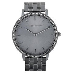 Rebecca Minkoff Major Gray Ion-Plated Watch 2200350