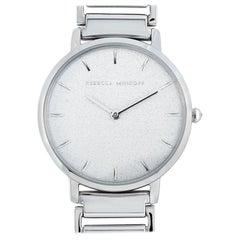 Rebecca Minkoff Major Silver-Tone Watch 2200258