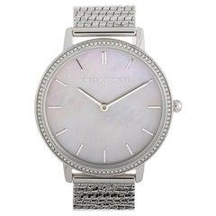 Rebecca Minkoff Major Silver-Tone Watch 2200367
